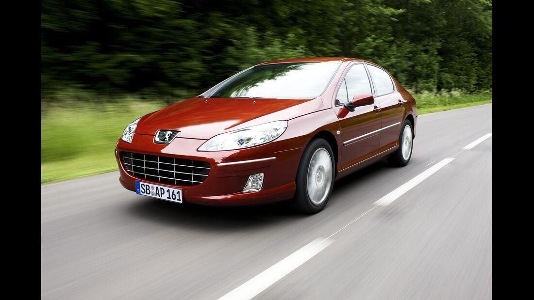 Peugeot verbessert Motor des 407