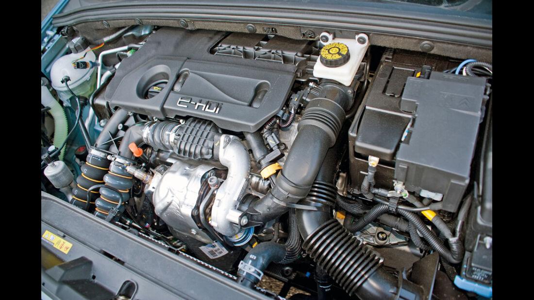 Peugeot308 1.6 e-Hdi, Motor, Motorraum
