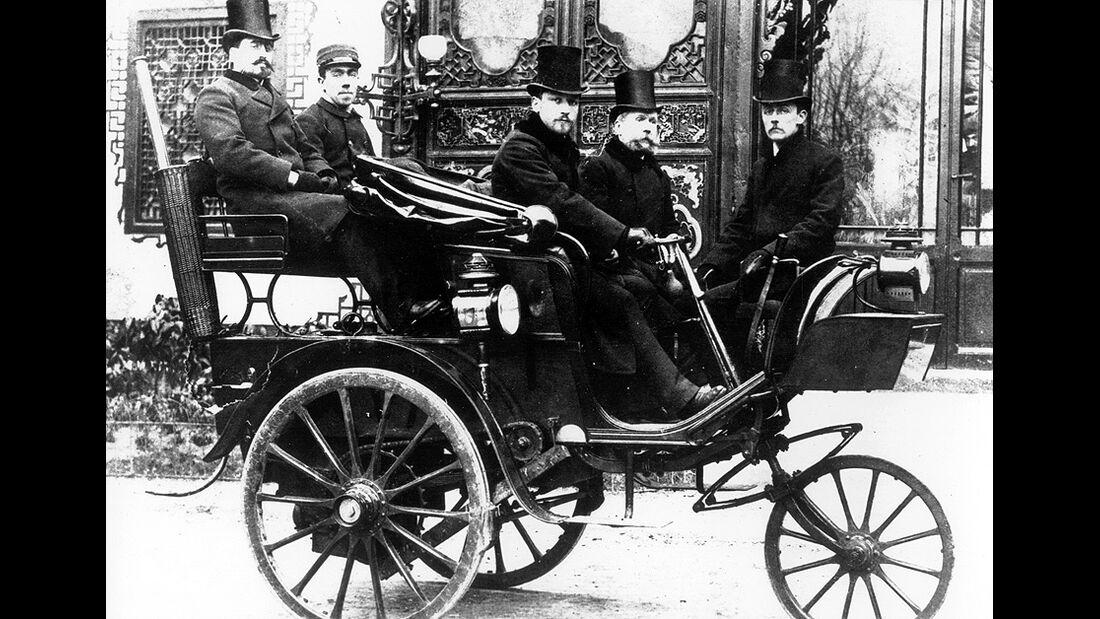 PeugeotTyp1 Dampfwagen 1889,