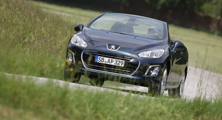 Peugot 308 CC 155 THP, Frontansicht, Front