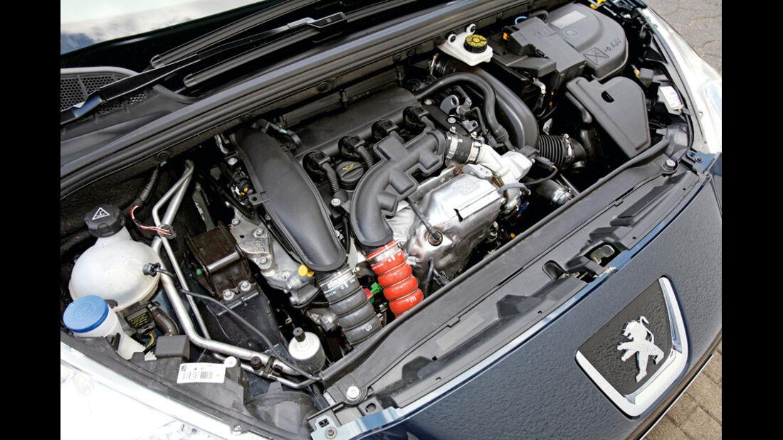Peugot 308 CC 155 THP, Motor, Motorraum