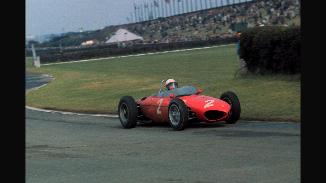 Phil Hill - Ferrari 156 - Aintree 1961