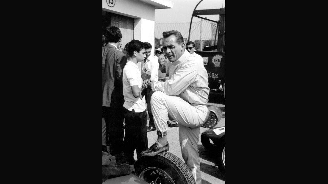 Phil Hill - Ferrari - Monaco 1961