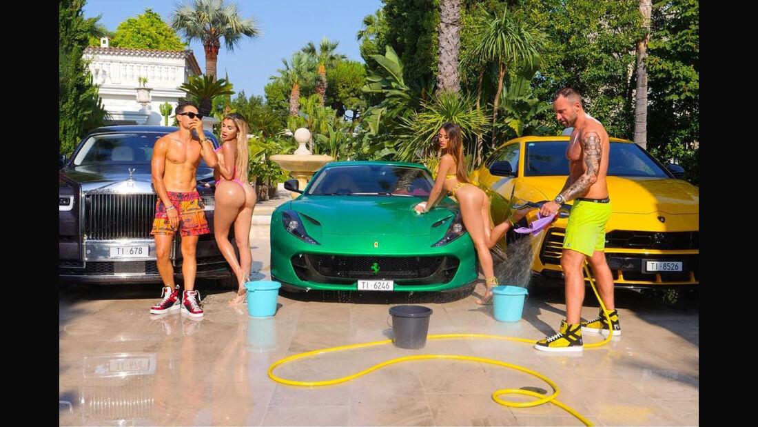Philipp Plein Ferrari Rechtsstreit Instagram Bikini Schuhe