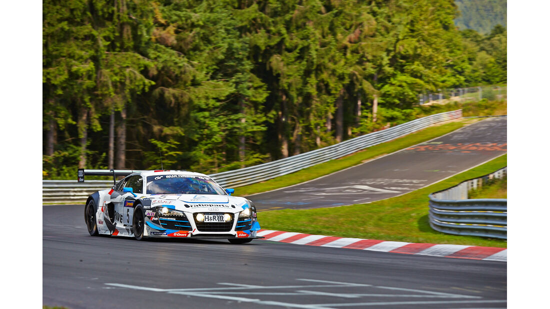 Phoenix Audi R8 - VLN Nürburgring - 6. Lauf - 2. August 2014