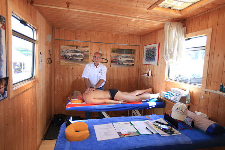 Physiotherapeut Axel Nahmmacher