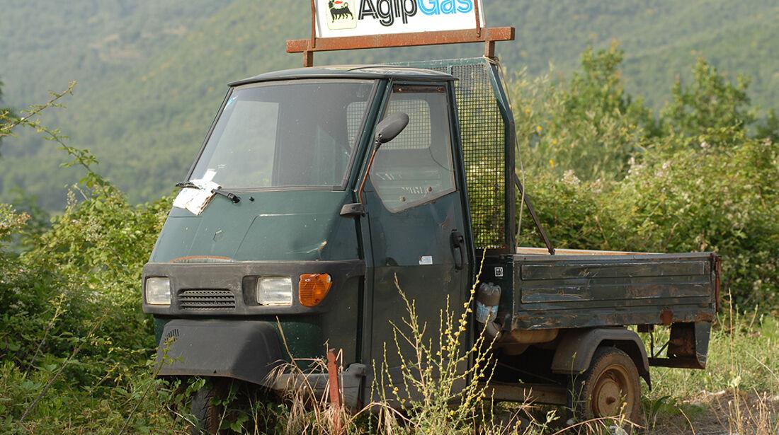 Piaggio Ape P 501 Dreirad