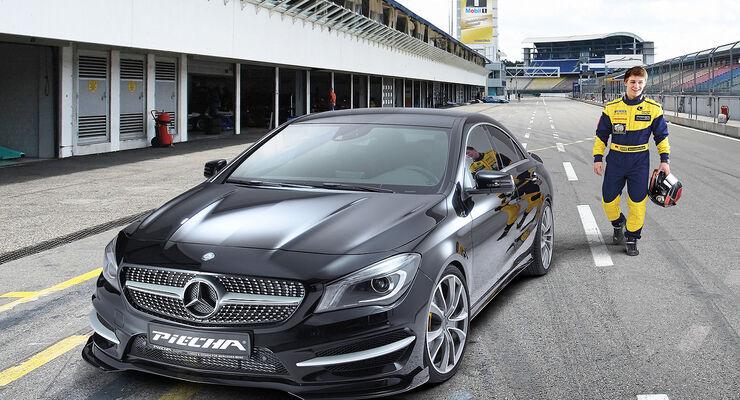 Piecha Mercedes CLA