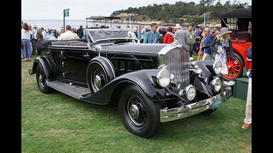 Pierce-Arrow 1247 LeBaron Convertible Sedan 1933