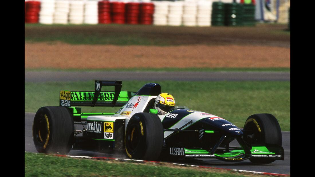 Pierluigi Martini - Minardi M195 - GP Argentinien 1995