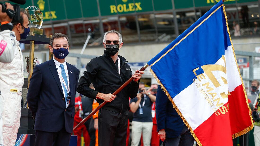 Pierre Fillon - ACO - Carlos Tavares - PSA - 24h-Rennen - Le Mans 2020