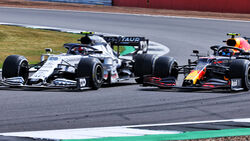 Pierre Gasly - Alpha Tauri - Alexander Albon - Red Bull - Silverstone 2020