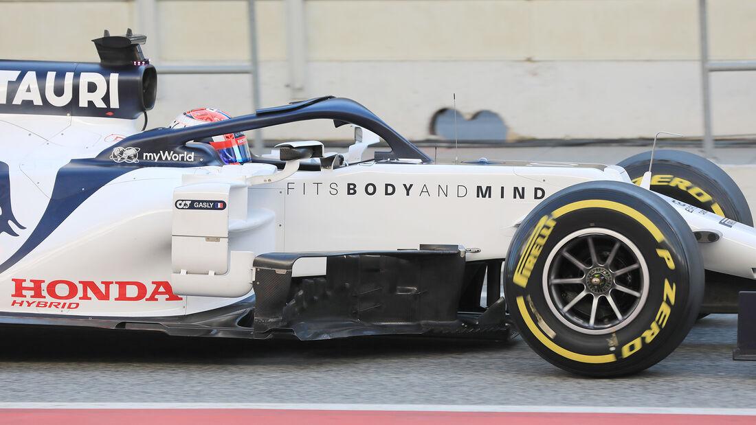 Pierre Gasly - Alpha Tauri - F1-Test - Barcelona - 20. Februar 2020