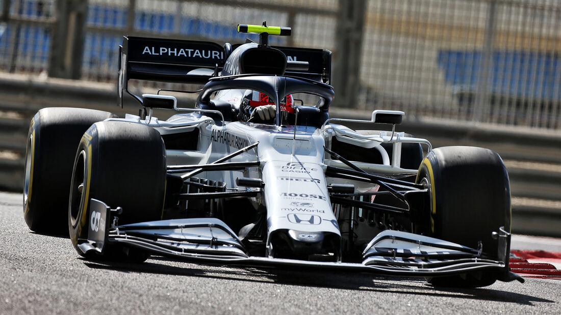 Pierre Gasly - Alpha Tauri - Formel 1 - GP Abu Dhabi - Freitag - 11.12.2020