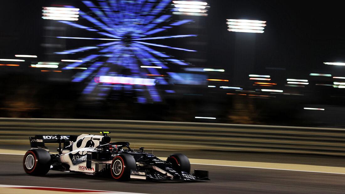 Pierre Gasly - Alpha Tauri - Formel 1 - GP Bahrain - Freitag - 26.3.2021