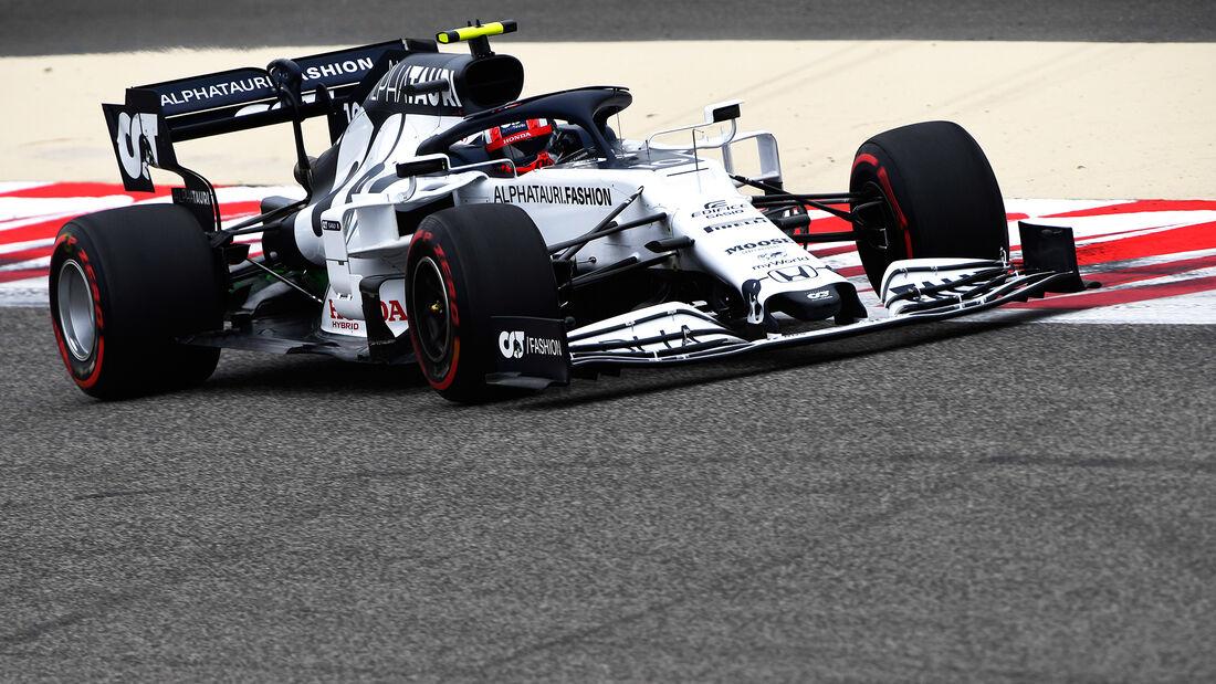 Pierre Gasly - Alpha Tauri - Formel 1 - GP Bahrain- Sakhir - Freitag - 27.11.2020