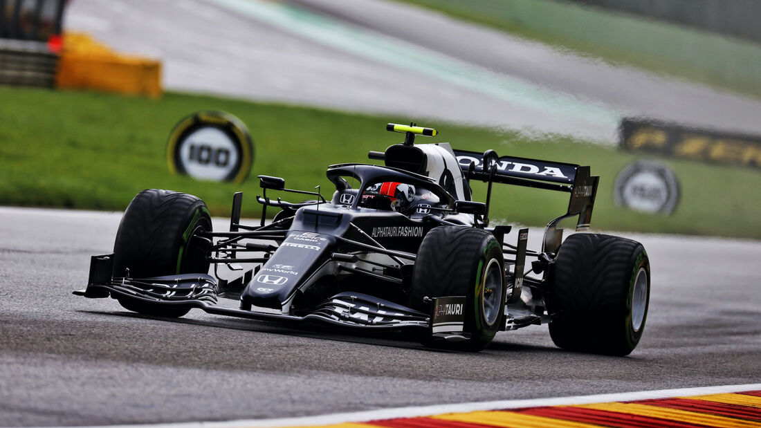 Pierre Gasly - Alpha Tauri - Formel 1 - GP Belgien - 28. August 2021