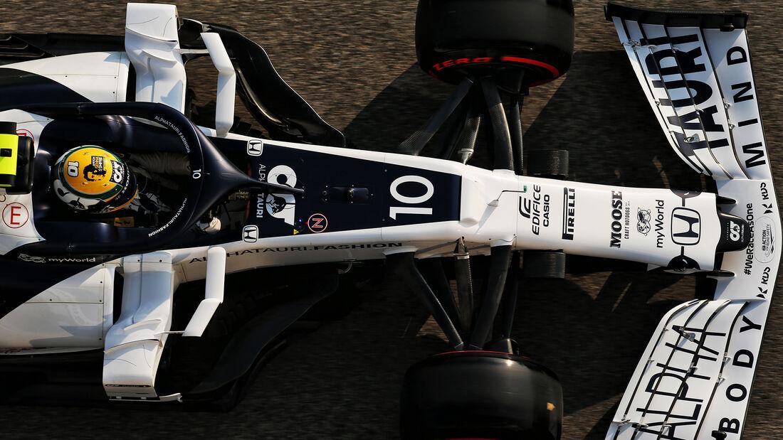 Pierre Gasly - Alpha Tauri - Formel 1 - GP Emilia-Romagna - Imola - Samstag - 31.10.2020