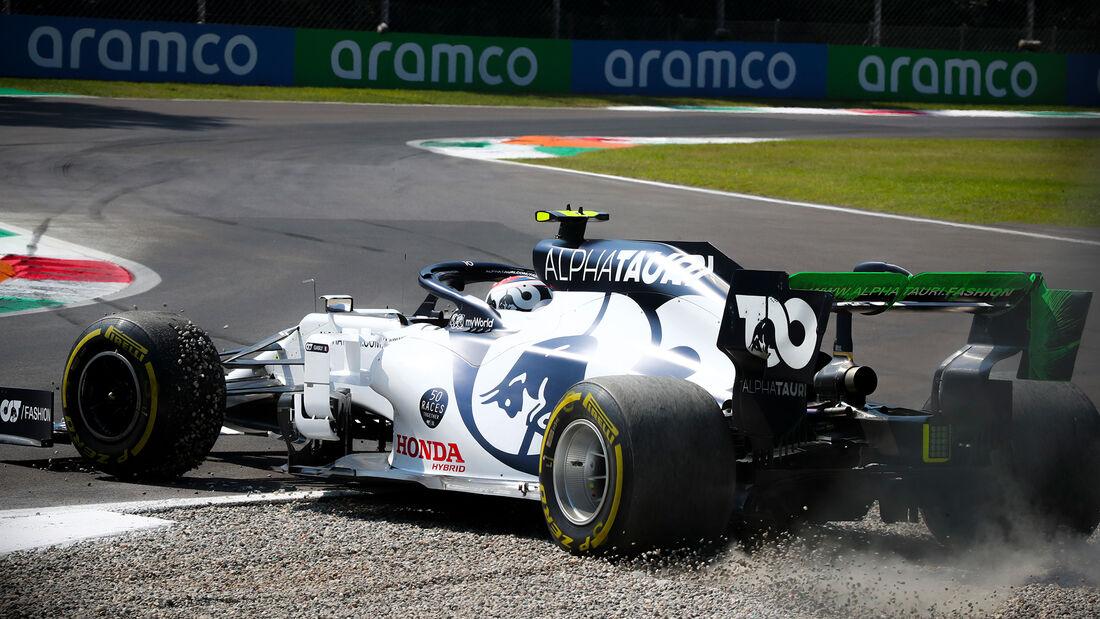 Pierre Gasly - Alpha Tauri - Formel 1 - GP Italien - Monza - 4. September 2020