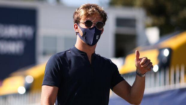 Pierre Gasly - Alpha Tauri - Formel 1 - GP Italien - Monza - Donnerstag - 3. September 2020