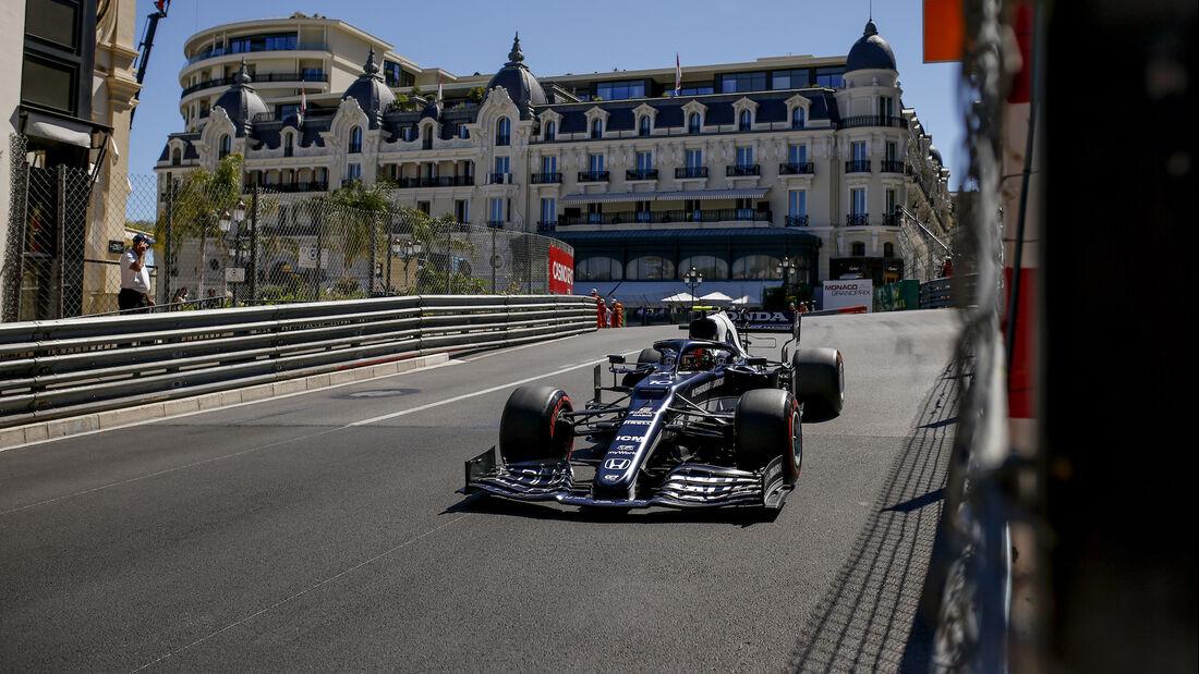 Pierre Gasly - Alpha Tauri - Formel 1 - GP Monaco 2021