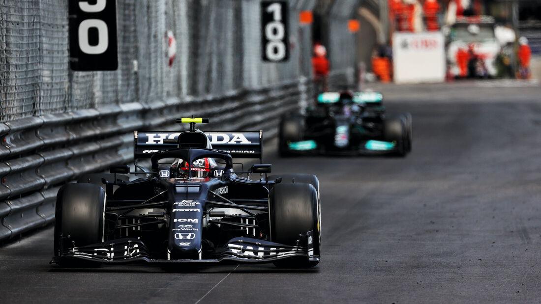 Pierre Gasly - Alpha Tauri - Formel 1 - GP Monaco - 23. Mai 2021