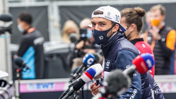 Pierre Gasly - Alpha Tauri - Formel 1 - GP Niederlande - Zandvoort - 2. September 2021