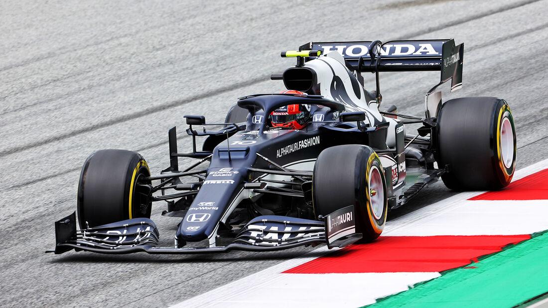 Pierre Gasly - Alpha Tauri - Formel 1 - GP Österreich - Spielberg - Freitag - 2.7.2021