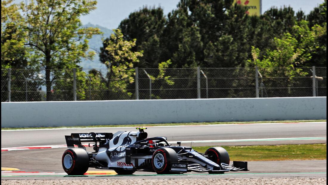 Pierre Gasly - Alpha Tauri - Formel 1 - GP Spanien - 7. Mai 2020