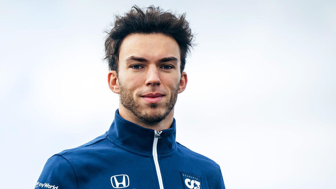 Pierre Gasly - Alpha Tauri - Formel 1 - GP Türkei - Istanbul - 7. Oktober 2021