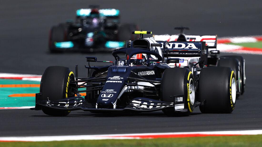 Pierre Gasly - Alpha Tauri - Formel 1 - GP Türkei - Istanbul - 8. Oktober 2021