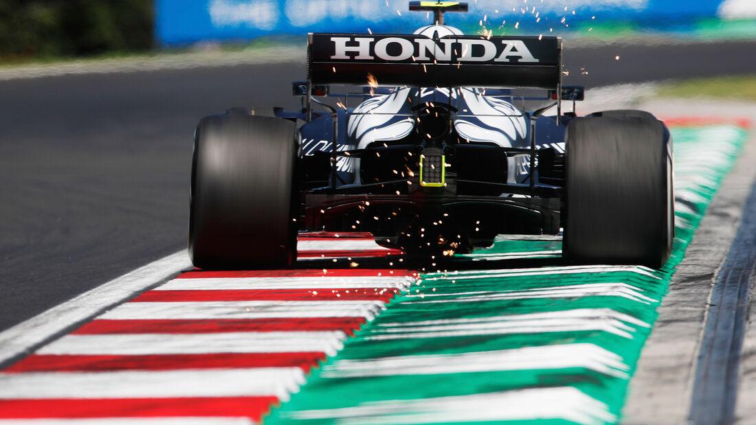 Pierre Gasly - Alpha Tauri - Formel 1 - GP Ungarn - Budapest - Freitag - 30. Juli 2021