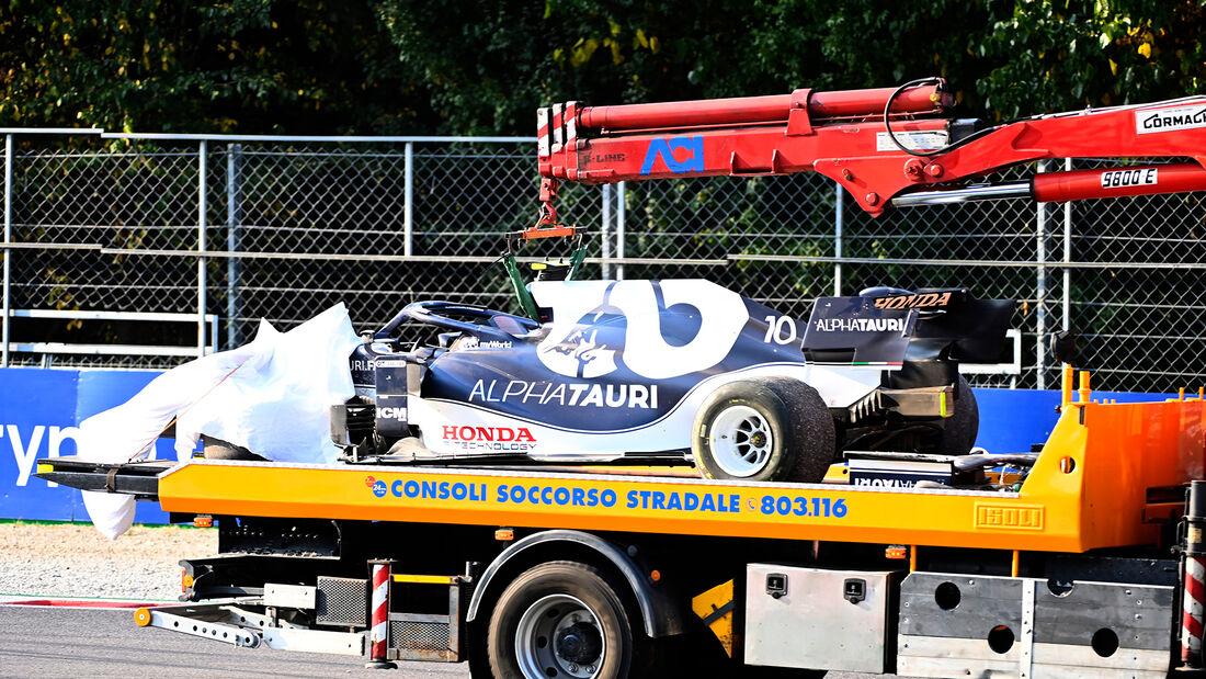 Pierre Gasly - Alpha Tauri - Formel 1 - Monza - GP Italien - 11. September 2021