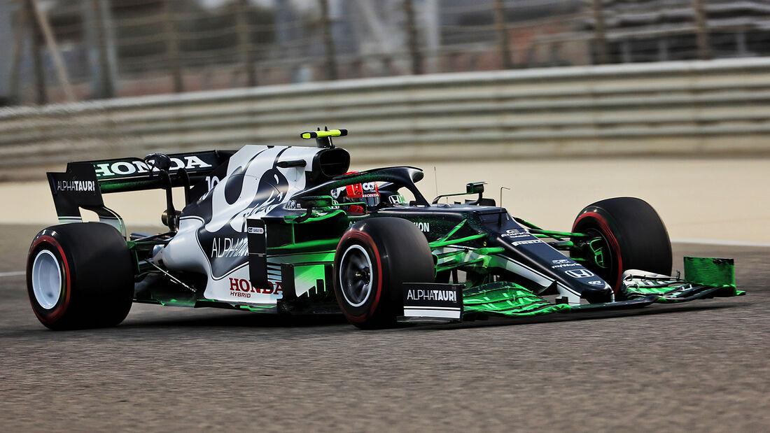 Pierre Gasly - Alpha Tauri - Formel 1 - Test - Bahrain - 13. März 2021
