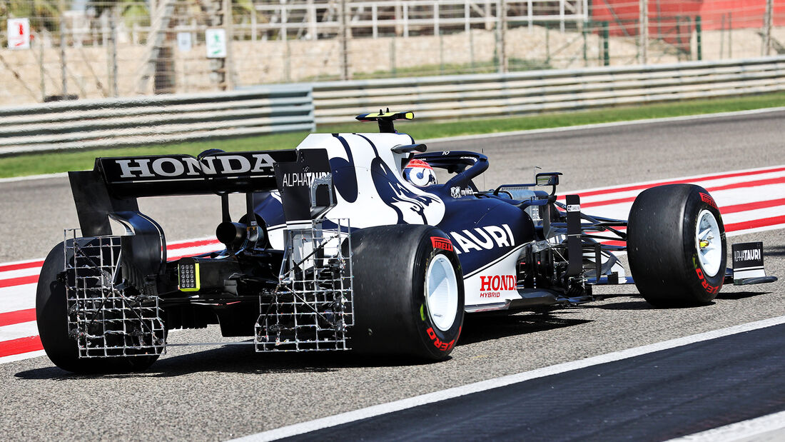 Pierre Gasly - Alpha Tauri - Formel 1 - Test - Bahrain - 14. März 2021
