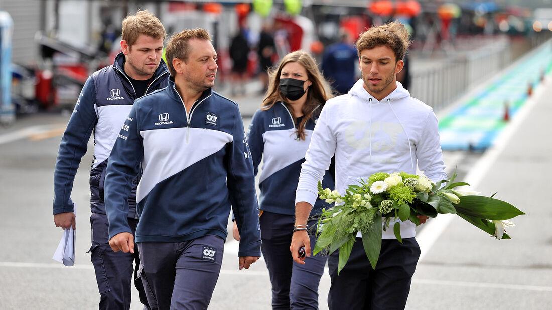 Pierre Gasly - Alpha Tauri - GP Belgien - Spa-Francorchamps - 26. August 2021