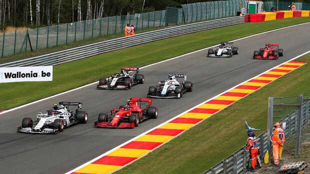 Pierre Gasly - Alpha Tauri - GP Belgien - Spa-Francorchamps - 29. August 2020