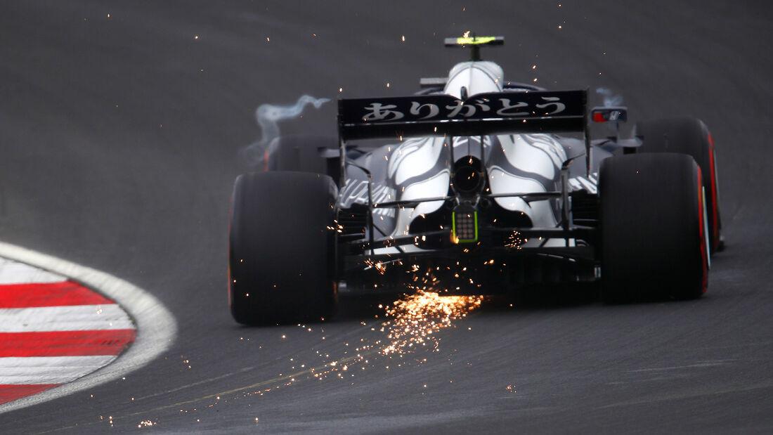 Pierre Gasly - Alpha Tauri - GP Türkei - Istanbul - Formel 1 - 9. Oktober 2021