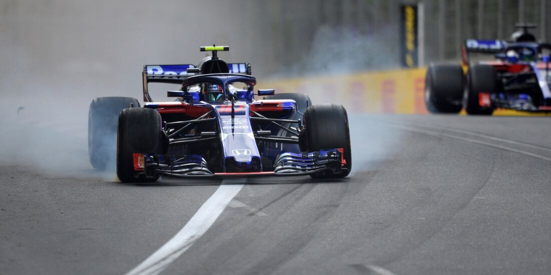 Pierre Gasly - Brendon Hartley - Toro Rosso - Formel 1 - GP Aserbaidschan - 28. April 2018