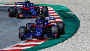 Pierre Gasly - Brendon Hartley - Toro Rosso - GP Österreich 2018