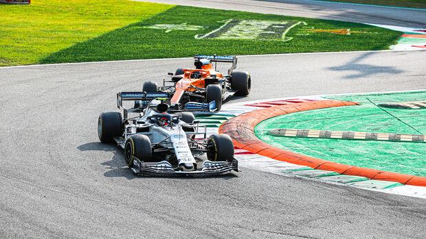 Pierre Gasly - Carlos Sainz - GP Italien 2020 - Monza