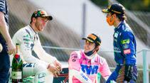 Pierre Gasly - Carlos Sainz - Lance Stroll - GP Italien 2020 - Monza