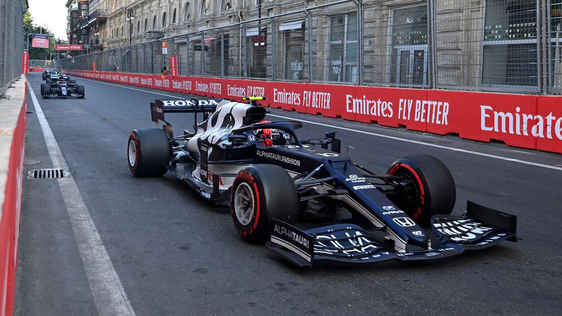 Pierre Gasly - Formel 1 - GP Aserbaidschan 2021
