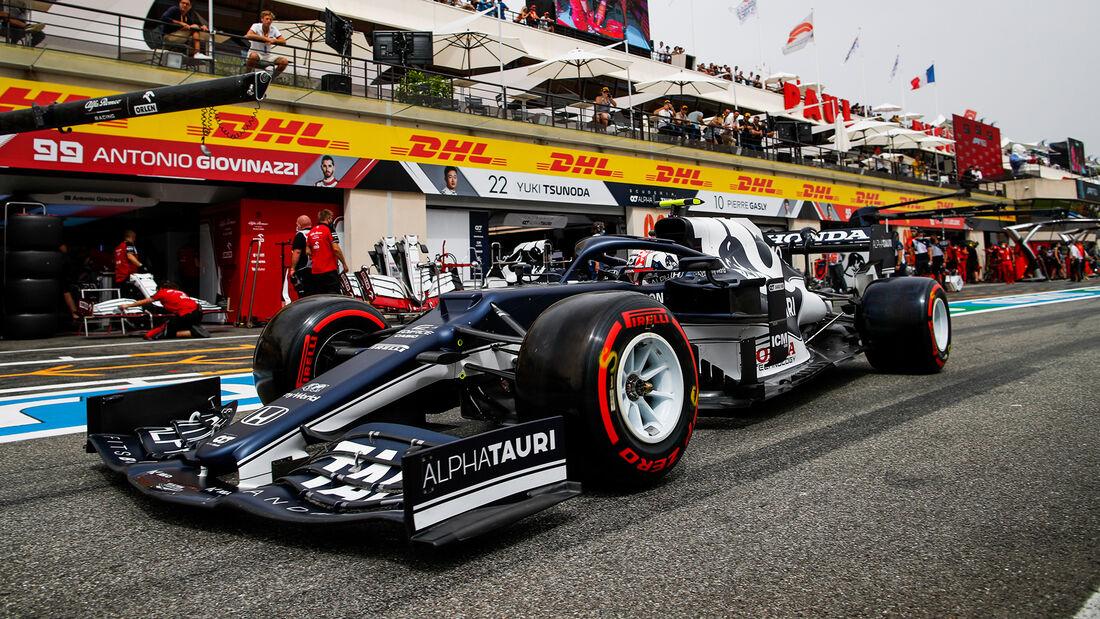 Pierre Gasly - Formel 1 - GP Frankreich 2021