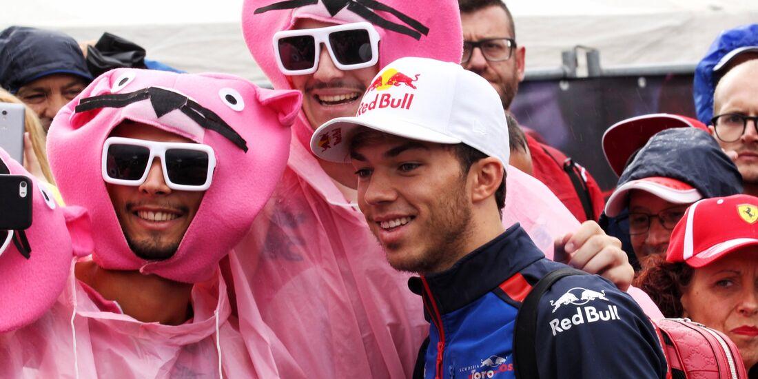 Pierre Gasly - Formel 1 - GP Italien - 01. September 2018