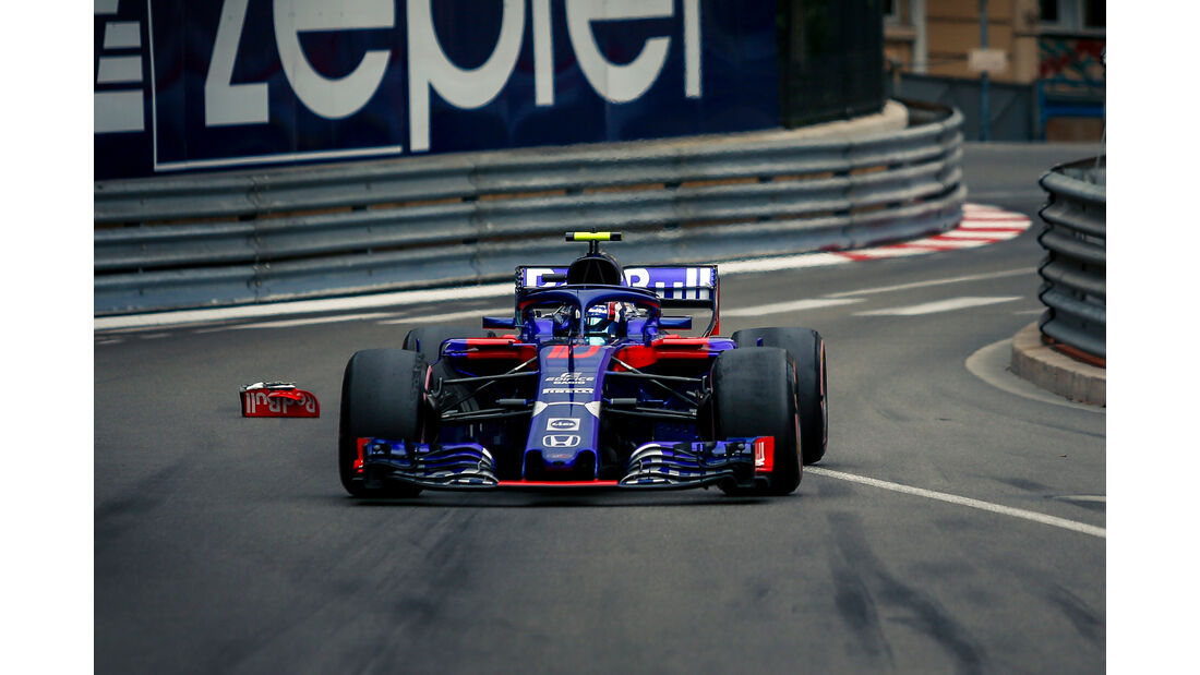 Pierre Gasly - Formel 1 - GP Monaco 2018