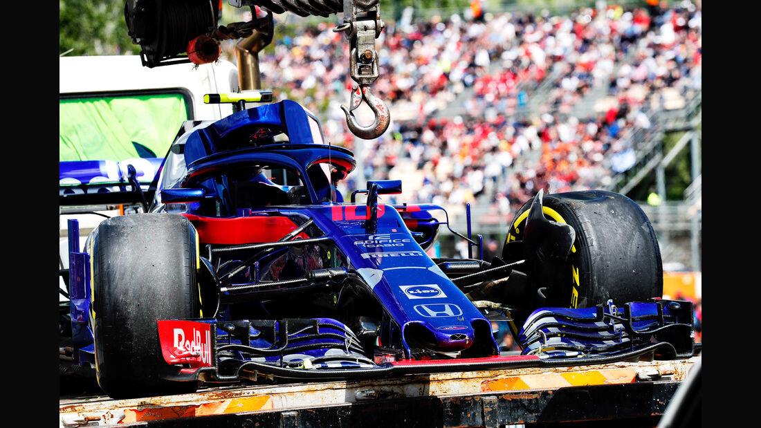 Pierre Gasly - Formel 1 - GP Spanien 2018