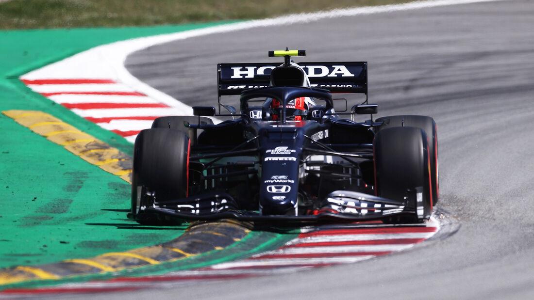Pierre Gasly - Formel 1 - GP Spanien 2021