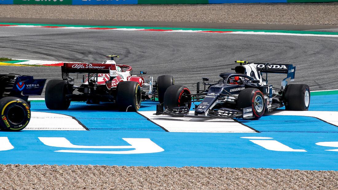 Pierre Gasly - Formel 1 - GP Steiermark - Spielberg - 27. Juni 2021