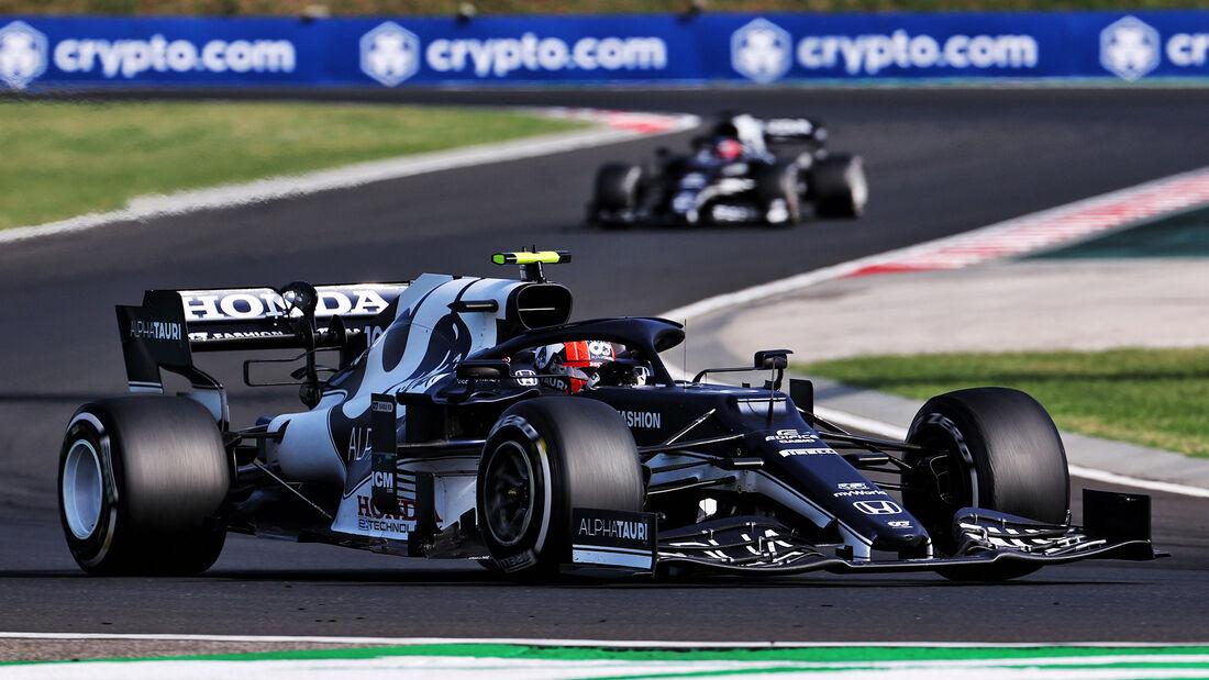 Pierre Gasly - Formel 1 - GP Ungarn 2021